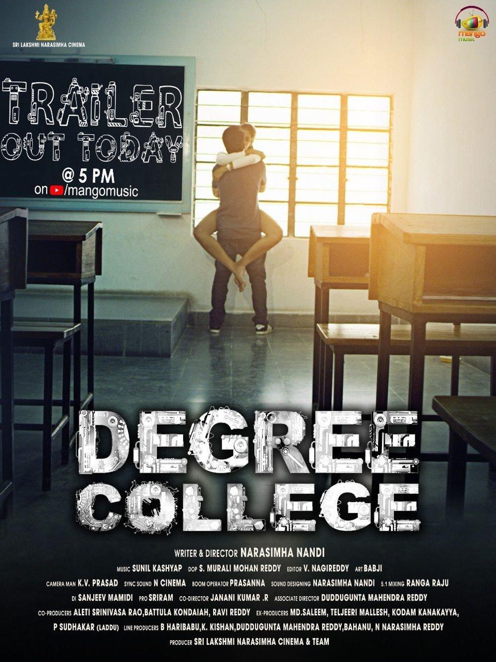 3-<p>Degree College</p>