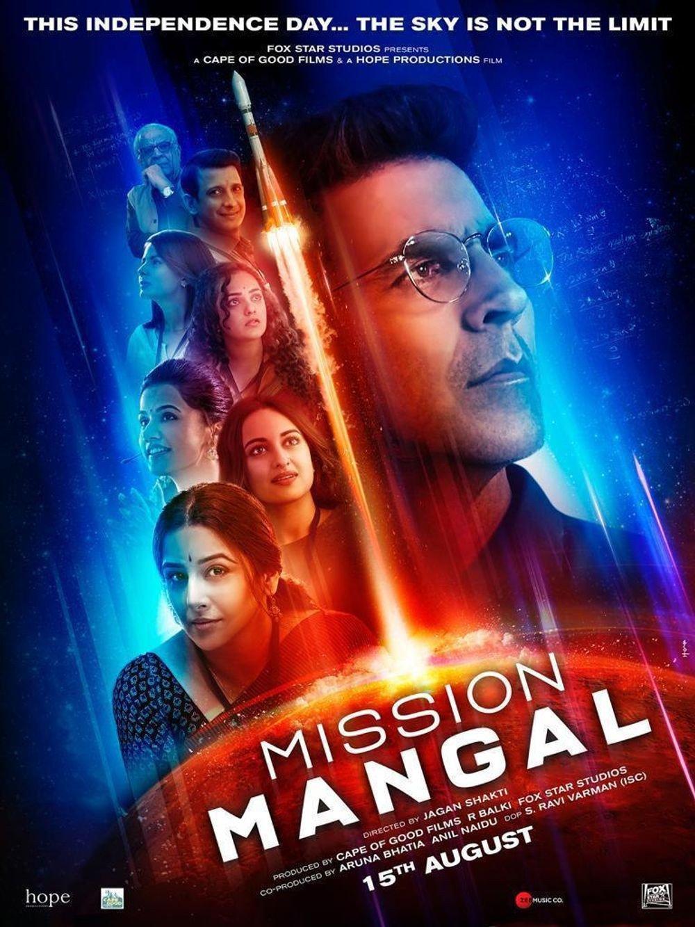1-<p>Mission Mangal</p>