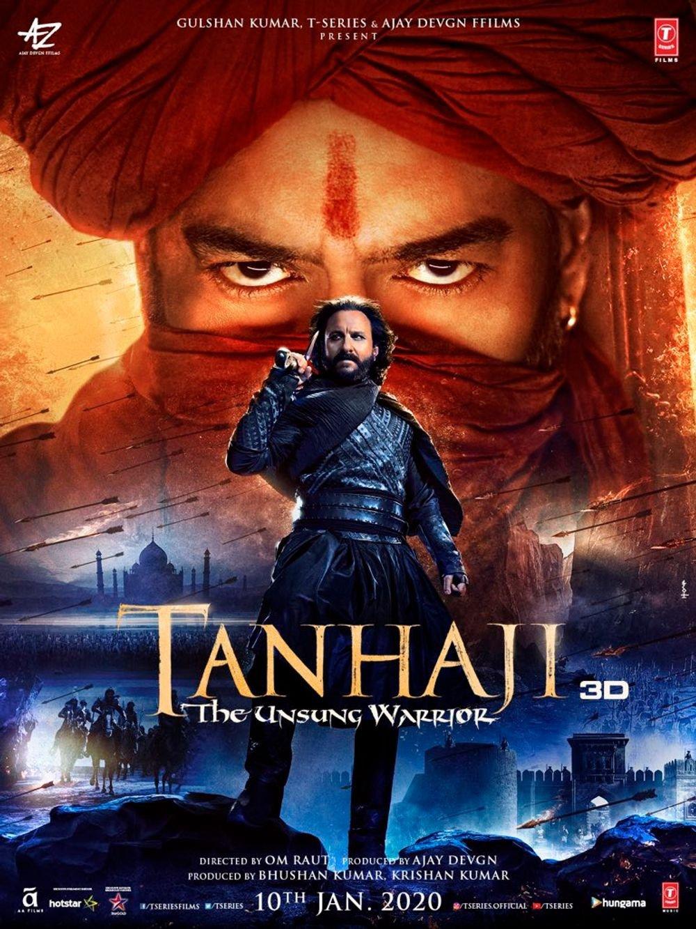 <p>Tanhaji The Unsung Warrior</p>-banner