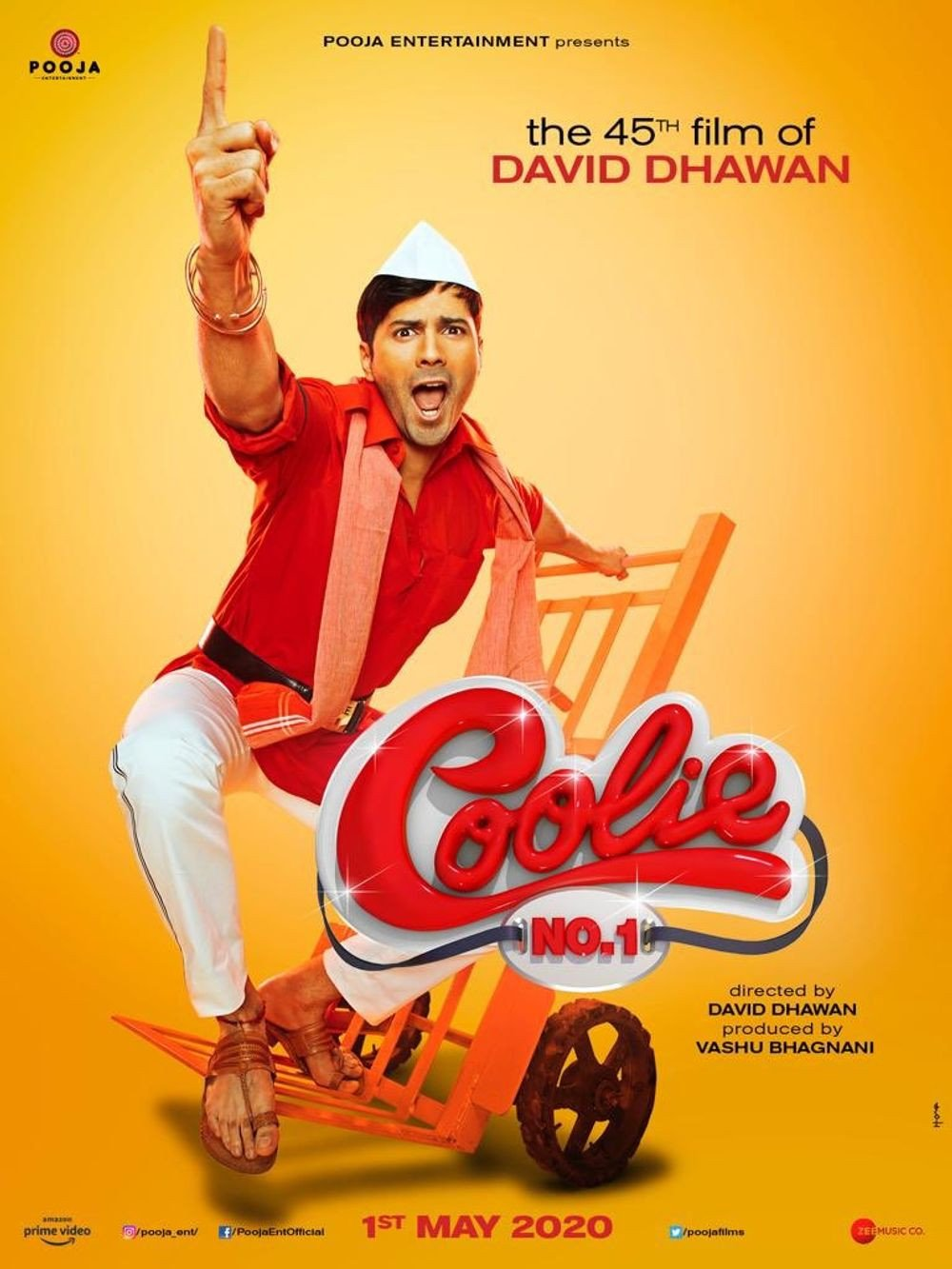 Coolie No. 1 Review Poster