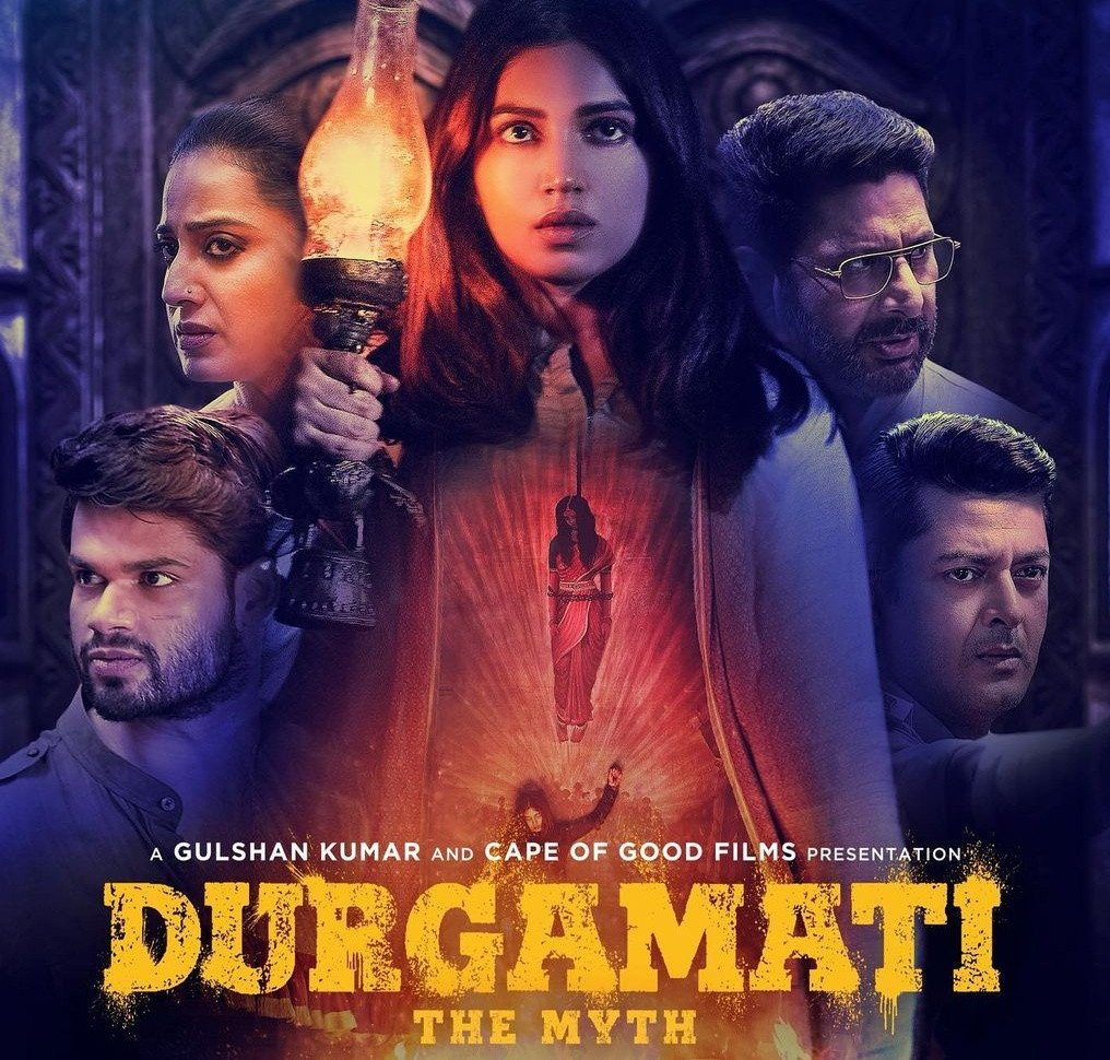 Durgamati Review Poster