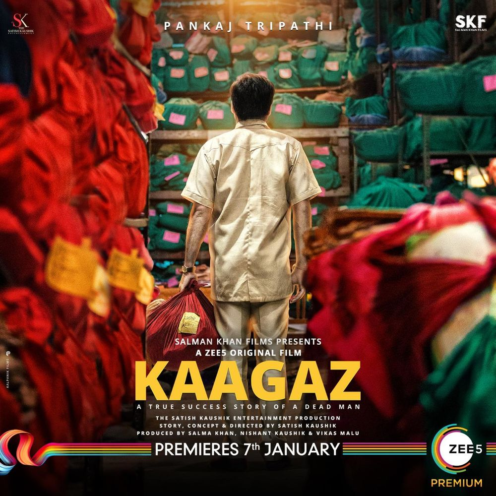 Kaagaz Review Poster