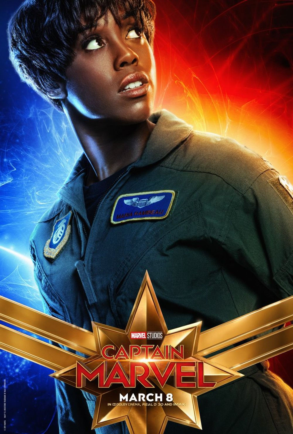 3-Captain Marvel
