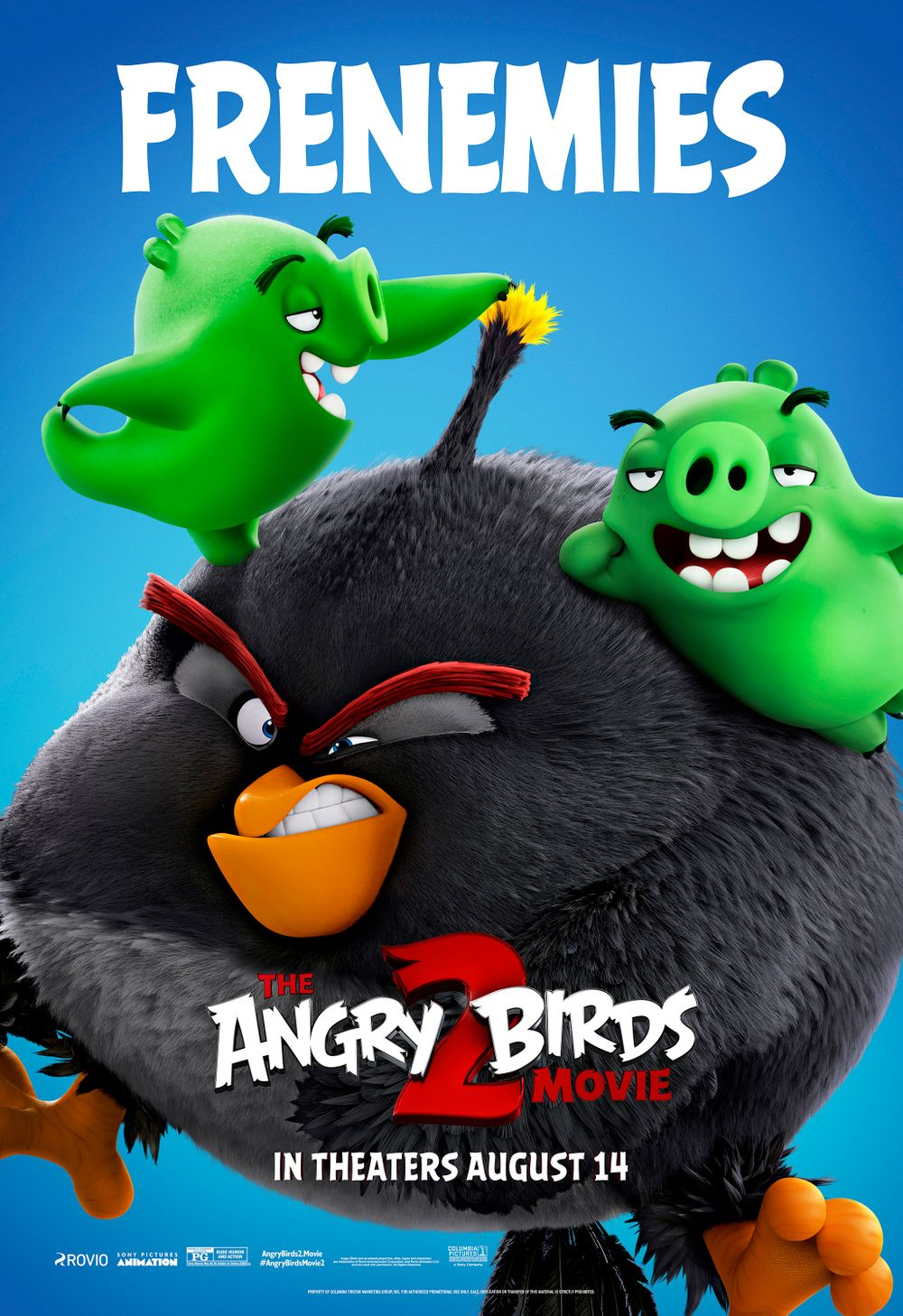 1-The Angry Birds Movie 2