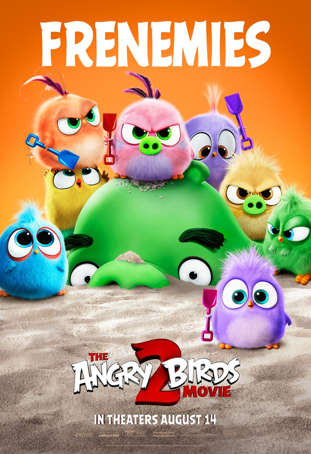 3-The Angry Birds Movie 2