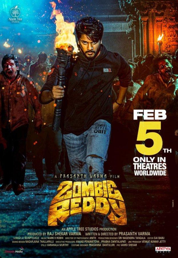 Zombie Reddy Poster