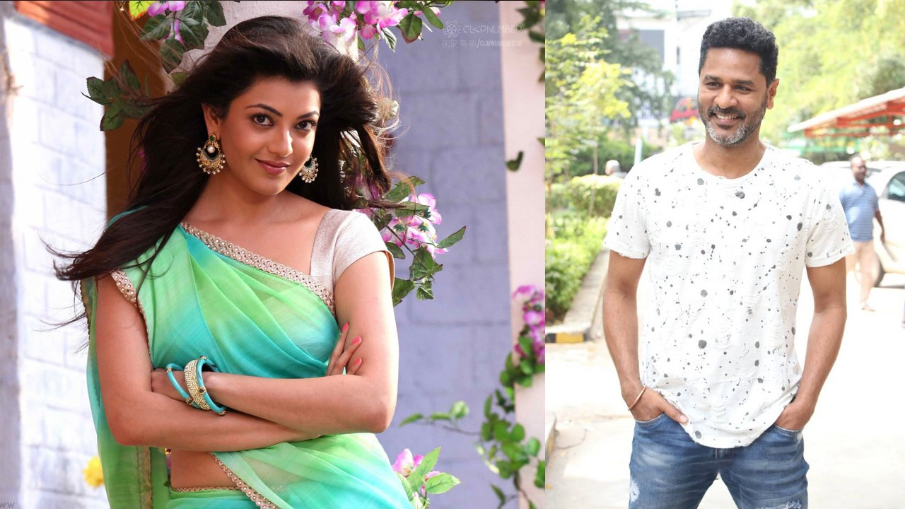 kajal-and-prabhu-deva-collaborate-for-their-next-flick-image