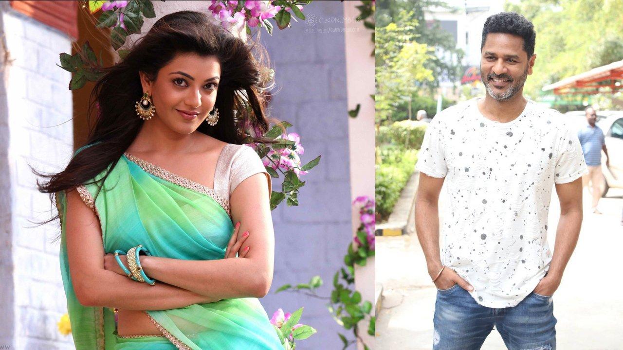 kajal-and-prabhu-deva-collaborate-for-their-next-flick-image