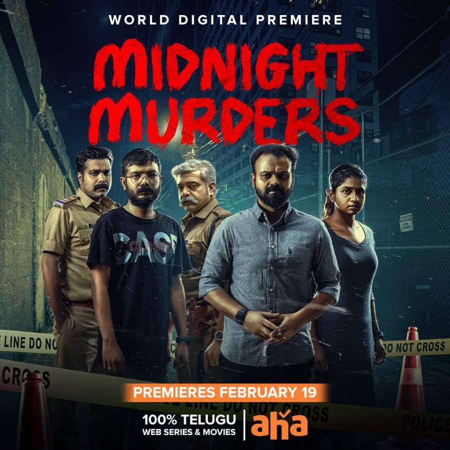 Midnight Murders Poster