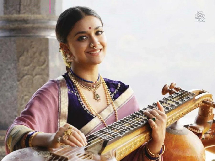 keerthy-sureshs-jaw-dropping-look-in-her-upcoming-high-budget-malayalam-flick-image