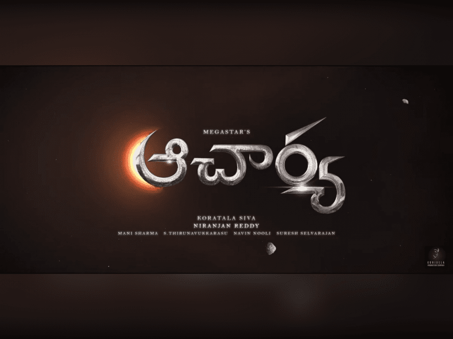another-new-single-from-chiranjeevis-acharya-to-mark-its-presence-image