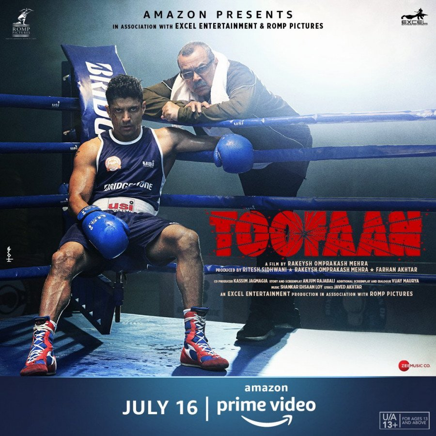 Toofaan Poster