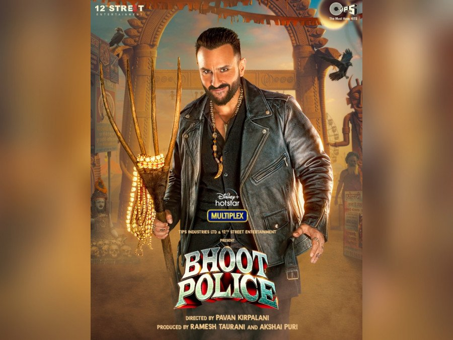 saif-ali-khans-first-look-as-vibhooti-from-bhoot-police-unveiled-image