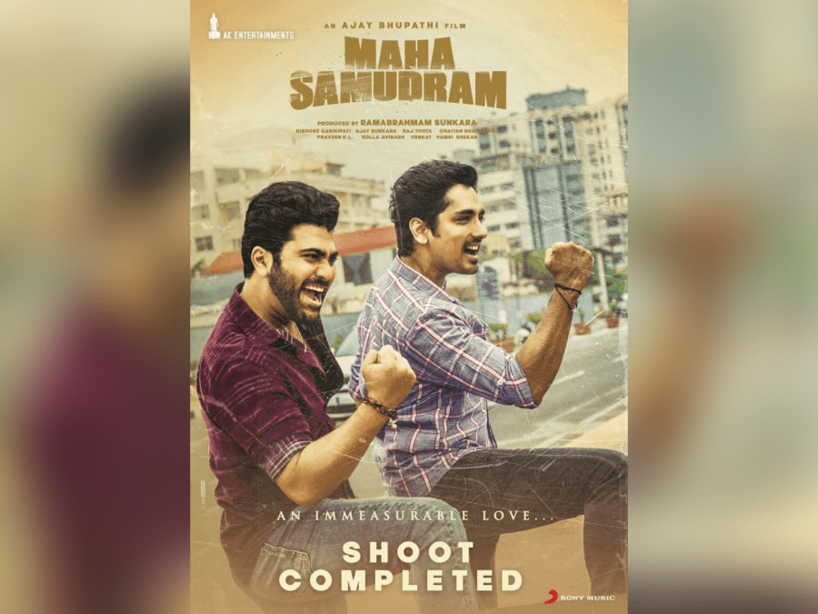 the-blissful-film-shoot-of-maha-samudram-is-finally-concluded-image