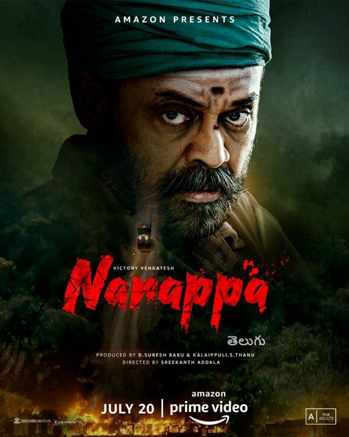 Narappa Poster