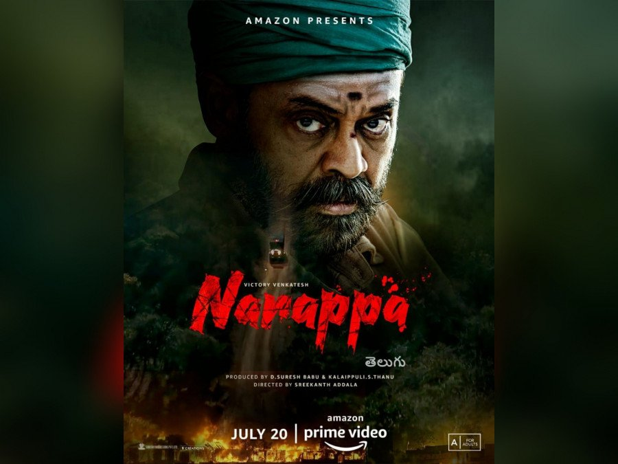 venkateshs-mass-action-entertainer-naarappa-to-release-on-amazon-prime-on-july-20-image