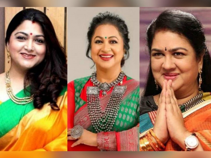 khushbu-radhika-sarathkumar-urvashi-in-aadavaallu-meeku-johaarlu-image