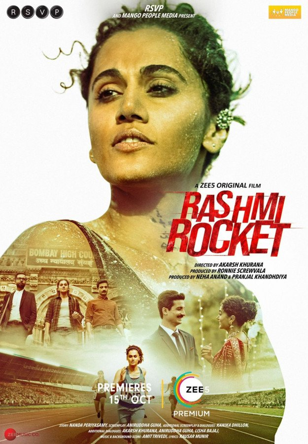 Rashmi Rocket Poster