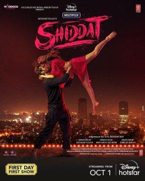 Shiddat Poster